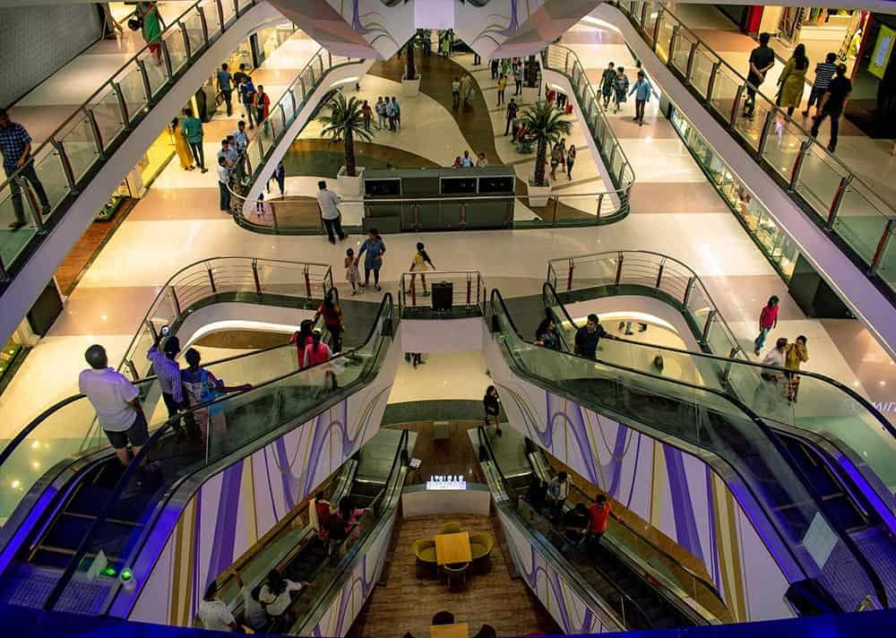 Plazas comerciales