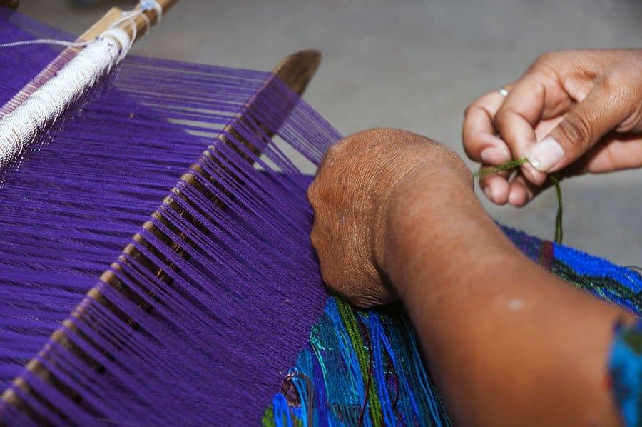 artesanías mayas