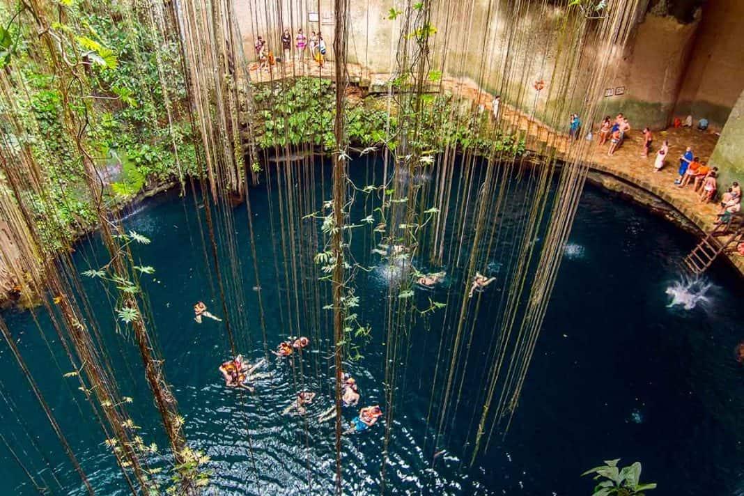 Cenote Ik Kil en yucatan