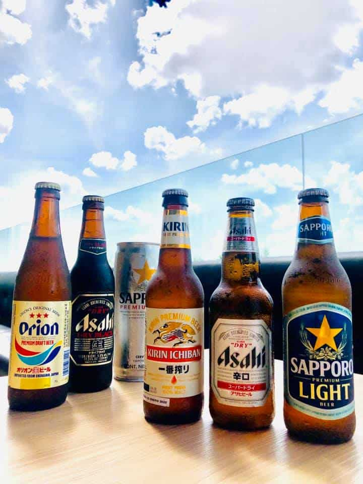 Variety of Japanese Beers-Hanaiche